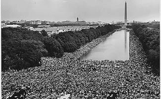 Crowd at the March on Washington