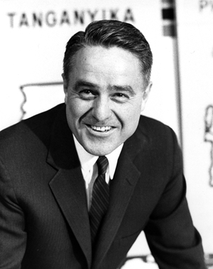 Peace Corps founder Sargent Shriver
