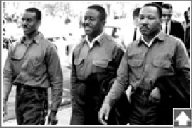Fred Shuttlesworth, Ralph Abernathy, Martin Luther King