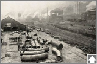 Birmingham's TCI steel plant c. 1900